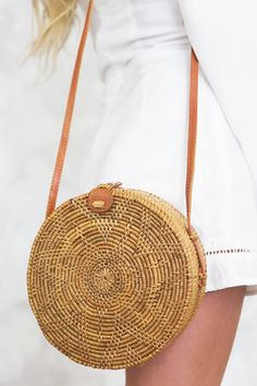 Jute Handbags, Circle Purse, Basket Bag, Cute Purses, Straw Bag, Cross Body, My Style, Natural, Collection