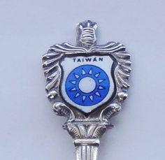 Collector Souvenir Spoon Taiwan National Emblem