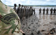 Images of 146 Troop on their week 15 Passout on the Mud at CTCRM