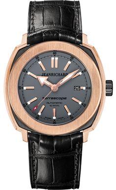 Jean Richard Terrascope Grey Dial 18ct Pink Gold Case  #JeanRichard #TerraScope #WatchConnection #Watches #Professional #Ican #DailyWatch #WatchOfTheDay #Inspiration #classy #wristwatch #RealSmartWatch #PhotoOfTheDay #Love #instagood #me #luxury #success #MenWithStyle #WatchPorn #MensFashion #MensWatch #CostaMesa #OrangeCountyCa