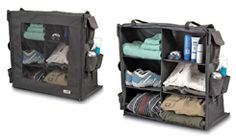 collapasable organizers   for tents | Click here to purchase a Collapsible Camping Closet at RVWholesalers ...