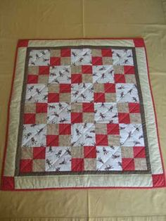 LOVE this sock monkey baby quilt and matching security blanket ... : monkey baby quilt pattern - Adamdwight.com