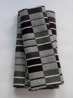 Eleanor Pritchard Narrow Gauge Blankets - inspired by train tracks and the repeat patterns of rails and sleepers. wool Blanket stitch edging Colourway – Narrow Gauge 150 x 180 cm approx Blanket Stitch, Wool Blanket, Japanese Market, Repeating Patterns, Bauhaus, Decoration, Color Combos, Plaid Scarf, Pattern Design