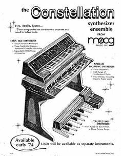 MATRIXSYNTH: Vintage 1973 Moog Constellation Synthesizer Ensemb...