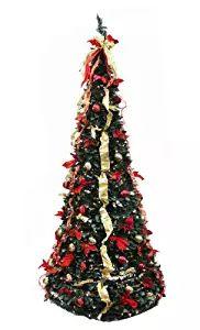 White 4//5//6//7//8 Feet Christmas Tree W//Stand Holiday Season Indoor Outdoor B2