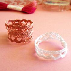 DIY & Bijoux en dentelle – Loïcia Itréma Crochet Rings, Mode Style, Aesthetic Girl, Other Accessories, Crochet Projects, Diy Jewelry, Knots, Wedding Rings, Homemade