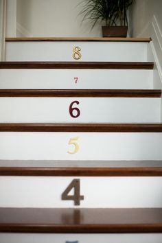 Living With Kids: Jillian Murphy ⋆ Design Mom Cottage Stairs, Sweet Home Design, Flooring For Stairs, Doors And Floors, Entry Stairs, Interior Design Elements, Stair Risers, Wooden Stairs, Toddler Fun