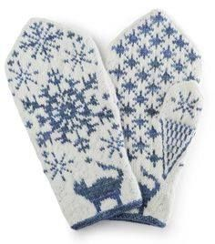 Knitting Patterns Mittens WOMEN from the book 'VOTTER' Knitting patterns from all over Norway 'by Nina Granlund Sæther. Coming January 20 … Knitted Mittens Pattern, Crochet Mittens, Knitted Gloves, Knit Crochet, Knitting Charts, Knitting Stitches, Knitting Socks, Knitting Patterns Free, Crochet Stitches