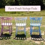 Benches and Chairs - Farm Fresh Vintage Finds