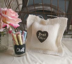Wedding Photo Booth Props Rustic Distressed Chalkboard Sign Accessories. $22.50, via Etsy.