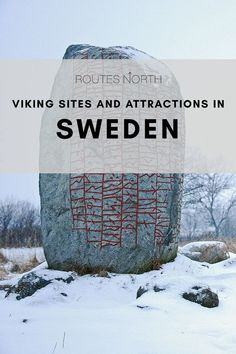 Where to find Vikings in Sweden - Routes North - For history geeks, one of the big joys of a visit to Sweden is learning all about the fierce folk w - Cool Places To Visit, Places To Travel, Travel Destinations, Travel Deals, Budget Travel, Travel Tips, Shopping Travel, Vacation Deals, Travel Abroad