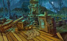 #ship #art #gameart #shipinterior #shipdeck #gaming #gamedev #gamedevelopmentart #game #shipexterior