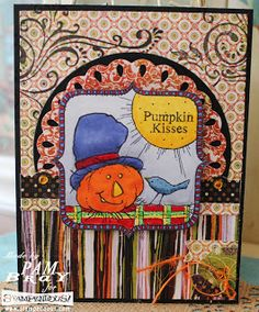 Scrapbook Flair: Pumpkin Kisses are the Best with Stampendous