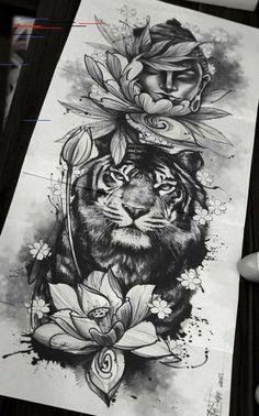 dessins de tatouage 2019 Simply of Beautiful Flower Tattoo Drawing Ideas for Women - Tattoo Designs Photo Flower Tattoo Drawings, Tattoo Sketches, Tattoo Flowers, Flower Tattoo Sleeves, Flower Leg Tattoos, Drawing Tattoos, Drawing Flowers, Neue Tattoos, Body Art Tattoos