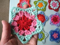 """Stars crocheted by Attic24.    Grandma Twinkle Star pattern is made by Michelle """"The Royal Sisters"""" and can be found here    theroyalsisters.b..."""