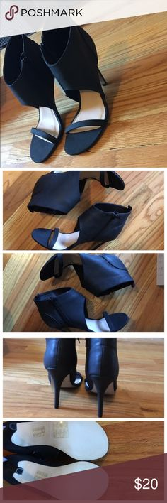 Spotted while shopping on Poshmark: NEW Modernist Open-Toe Booties Sz 8! #poshmark #fashion #shopping #style #Forever 21 #Shoes