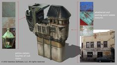 Sanctuary Buildings concept art from Borderlands 2 by Lorin Wood
