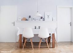 #scandinavian #nordic #interior #vitra #charles #eames #chair #eating #table #dinning #room