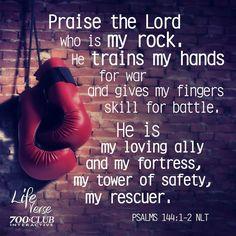 Psalm 144:1-2