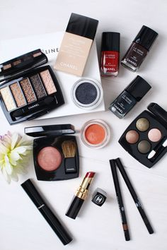 Thinking about festive make up trends this week over on www.inthefrow.com and what better brand to feature than Chanel Beauty?