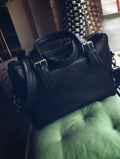 Leather briefcase  Men's bags