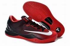 e291b01f3135 Authentic Kobe 8 System MC Mambacurial FB Cym Red Black White For Wholesale