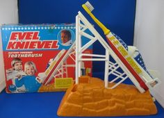 Evel Knievel tooth brush. Coolest toothbrush ever!