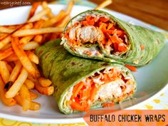 Buffalo Chicken Wraps   15-minute dinner recipe perfect for busy weeknights!