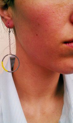 only one more day to enter the competition to win these earrings by LoveEarCandy!