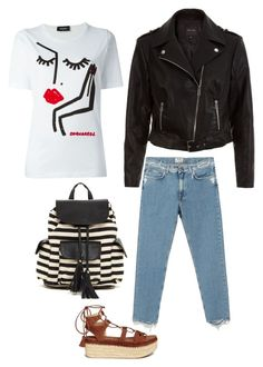 """""""Street style n.1"""" by jahd on Polyvore featuring moda, Poverty Flats, Dsquared2, Acne Studios, Stuart Weitzman e New Look"""
