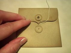 ShareCroppers: DIY Mini Kraft Envelopes