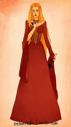 Cersei Lannister by themockingmirror
