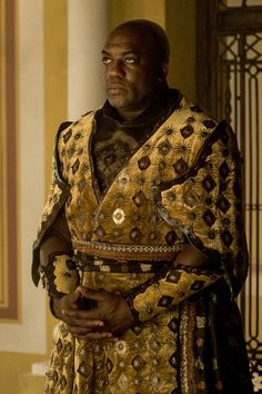 Game of Thrones - Areo Hotah (Captain of guards) for Prince Doran Martell in Dorne.