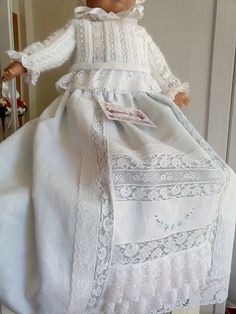 Blog de ropa artesanal para bebé, , bautizo, comunión y novia Baby Christening Gowns, Baby Wearing, Baby Love, Smocking, Knit Crochet, Blanket, Sewing, Knitting, Womens Fashion
