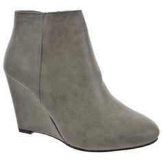 Kickly - Scarpe da Moda scarpe decollete zeppa alla caviglia donna Low boots Tacco zeppa 9.5 CM - soletta tessuto - Taupe T 41 - UK 7.5 in OFFERTA su www.kellieshop.com Scarpe, borse, accessori, intimo, gioielli e molto altro.. scopri migliaia di articoli firmati con prezzi da 15,00 a 299,00 euro! #kellieshop Seguici su Facebook > https://www.facebook.com/pages/Kellie-Shop/332713936876989