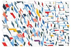 i want this // The city from above // Nigel Peake Abstract Words, Architecture Drawings, Geometric Art, Graphic Illustration, Illustrations, Graphic Design Inspiration, Love Art, Have Time, How To Draw Hands