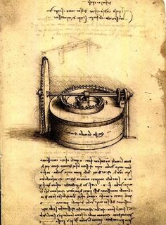 Codex Madrid. Leonardo da Vinci. 1490s–1504. Two volumes, rediscovered in 1966. I (1490s): Mainly concerned with the science of mechanisms. II (1503–4): Miscellaneous drawings, including maps of the Arno relating to the project to divert its course and notes and drawings relating to the casting of the Sforza monument. Biblioteca Nacional de España. Madrid.