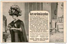 Original-Werbung/Inserat/ Anzeige 1907 :  KOMBELLA-SEIFE/PUDER - ca. 180 X 100 mm
