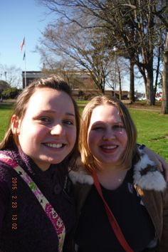 Sister Baldwin and her new companion, Sister Palmer!  Sister Missionaries for The Church of Jesus Christ of Latter Day Saints.  Washington Tacoma Mission.