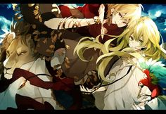 Fate/Grand Order || Fate/Strange Fake || Gilgamesh and Enkidu