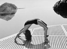 Charlotte Rampling for Helmut Newton, 1976.