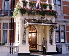 tea & scones at The Connaught Hotel in London