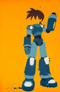 Mega Man - Legendary Mode poster.... this was like one of my fav. games as a kid