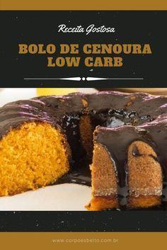 A Receita bolo de cenoura low carb é simplesmente uma delícia, e o melhor é que você pode matar a vontade de comer um doce sem extrapolar a quantidade de carboidratos.