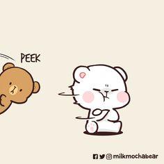 Cute Couple Comics, Cute Couple Cartoon, Cute Couple Art, Cute Love Cartoons, Cute Couples, Cute Love Gif, Cute Love Pictures, Bear Pictures, Cute Cartoon Images
