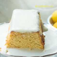 "Copycat Starbucks Lemon Loaf - (S) ""This tangy, sweet, delicate pound cake tastes so good you will have to keep reminding yourself that it's low carb and sugar free."" - Teresia www.TrimhealthyMama.com"