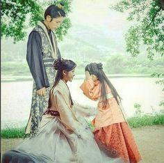 Moon lover, rey Gwangjong, Hae Soo e hija de ambos
