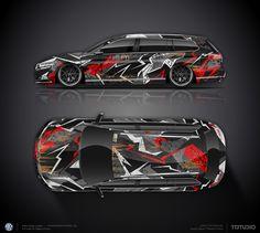 Design concept #1 thunderbolt or VW Passat B8