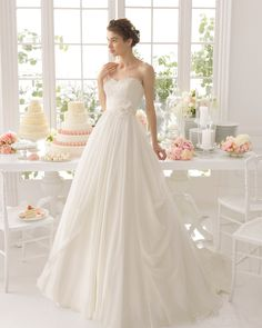 2015 Vintage Ball Gown Sweetheart Court Train Draped Flower Sashes Wedding Dress