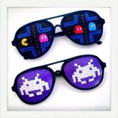 Pac-Man, Space Invaders Sunglasses